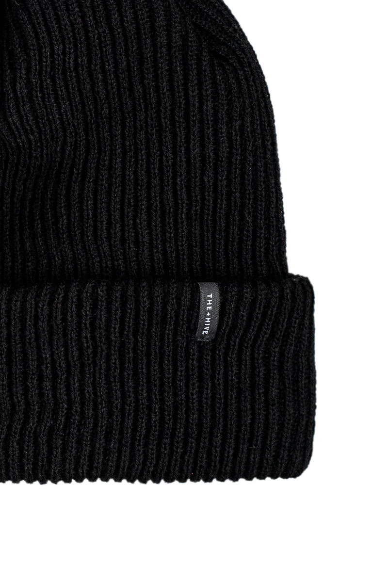 MODS BEANIE IN BLACK