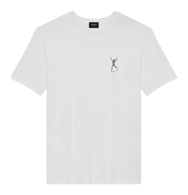 KILL ME TEE IN WHITE