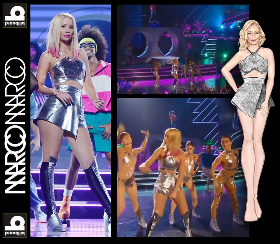 Iggy Azalea in MM at the Billboard Awards