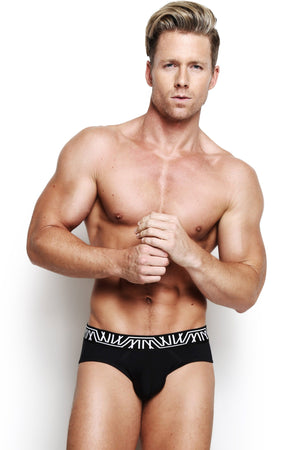 Designer Mens Underwear | Marco Marco | Core Brief Black