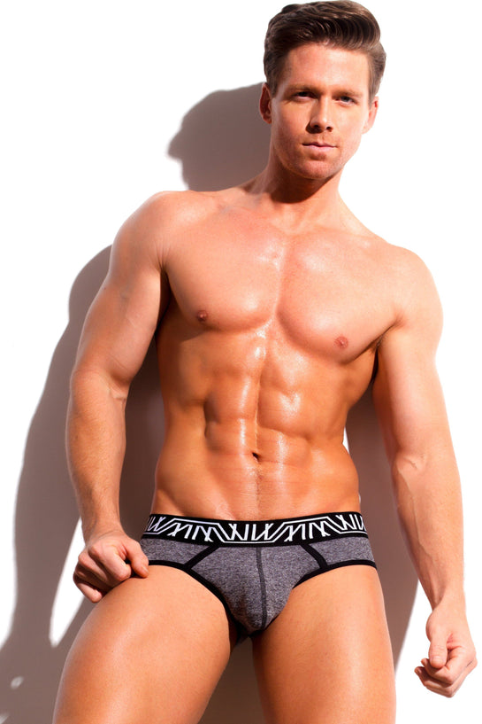 Designer Mens Underwear | Marco Marco | Core Brief Gray