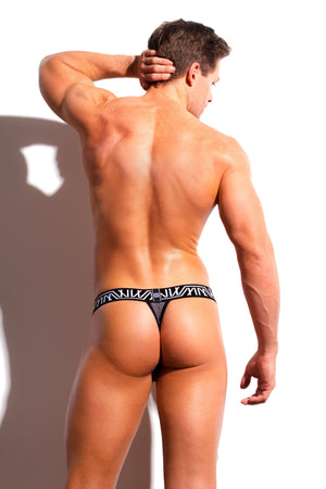 Designer Mens Underwear | Marco Marco | Core Thong Gray