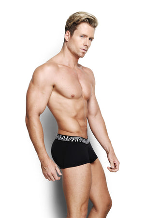 Designer Mens Underwear | Marco Marco | Core Trunk Black