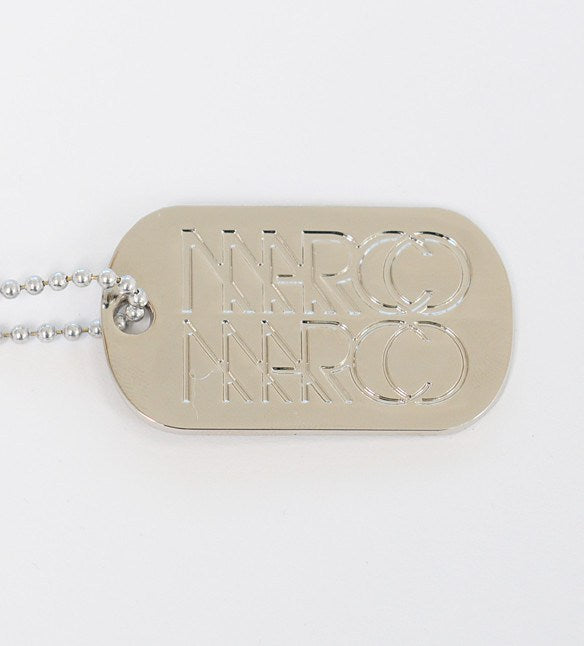 Silver Nickel-Plated Marco Marco Dog Tag - Marco Marco Underwear  - 1