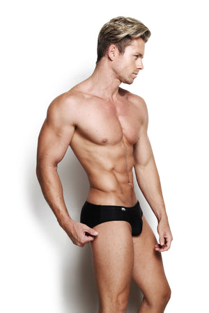 Designer Mens Underwear | Marco Marco | Essential Swim Brief Black