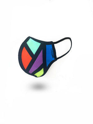 Designer Mens Underwear | Marco Marco | Stained Glass Reversible Face Mask (PRE ORDER)