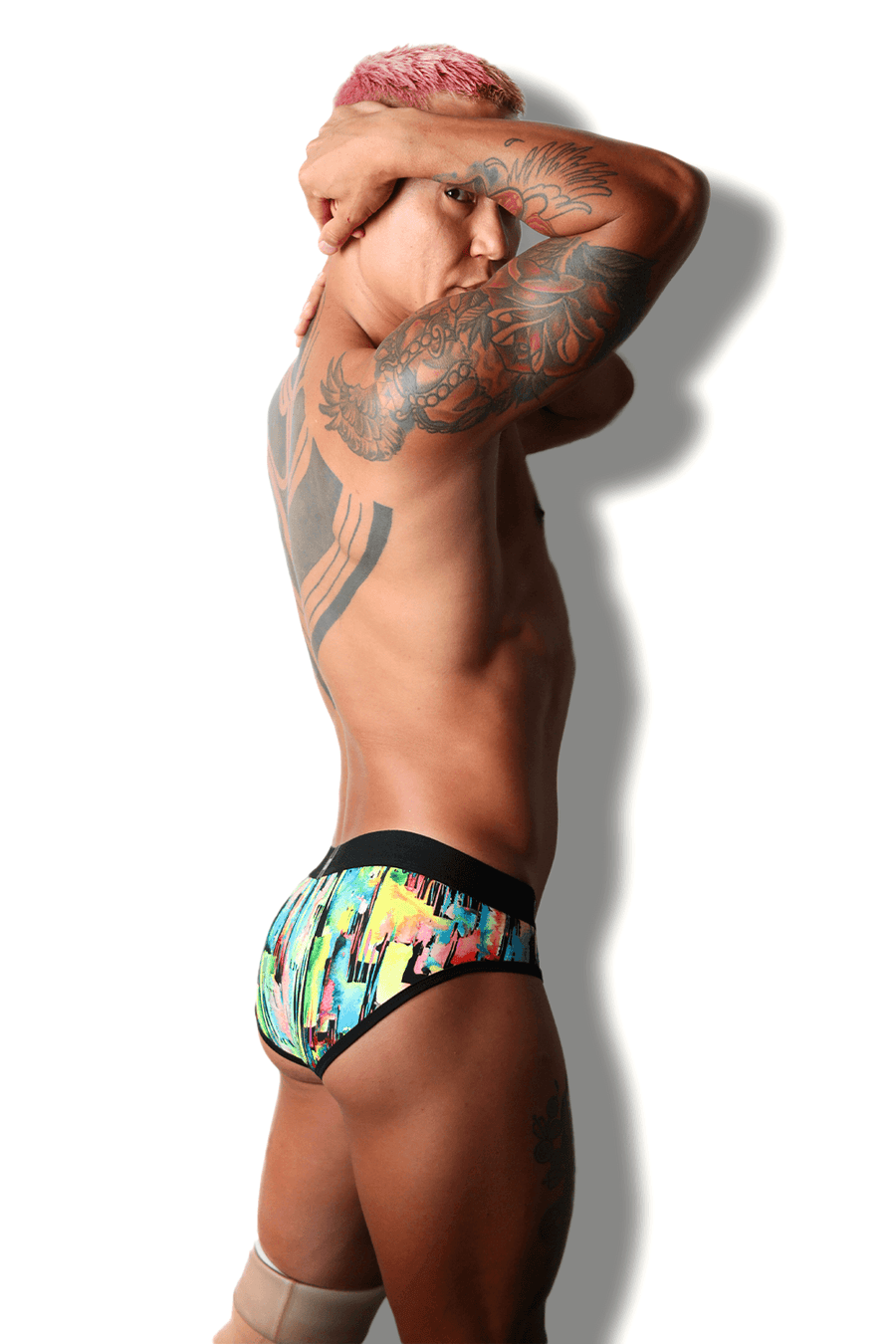 Designer Mens Underwear | Marco Marco | Oil Slick Brief