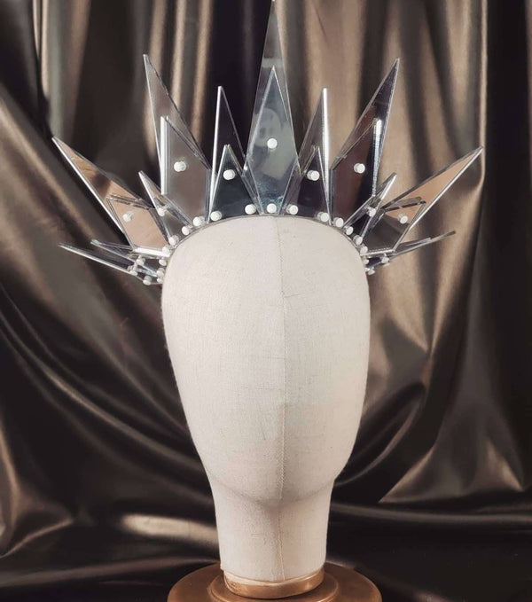 Layered Ghost Mirror Crown - Marco Marco