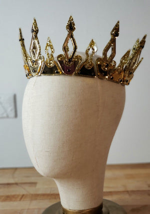 Modern Medieval Crown | Gold - Marco Marco