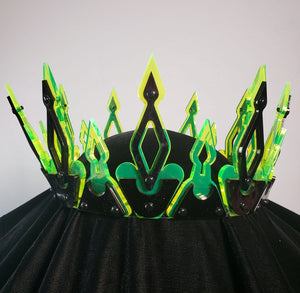 Modern Medieval Crown | Black and Neon - Marco Marco