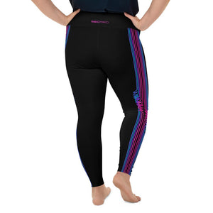 Bi Pride Hi Waist Leggings Extended Size (No Pouch) - Marco Marco
