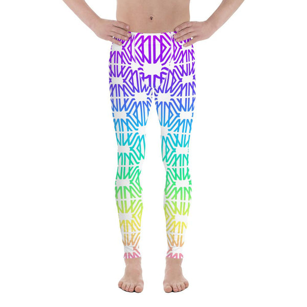 Designer Mens Underwear | Marco Marco | Rainbow Gradient Legging (With Pouch)