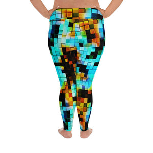 Designer Mens Underwear | Marco Marco | Pixel Leggings Extended Size (No Pouch)
