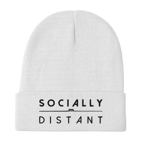 Designer Mens Underwear | Marco Marco | Socially Distant Beanie - Black Embroidery