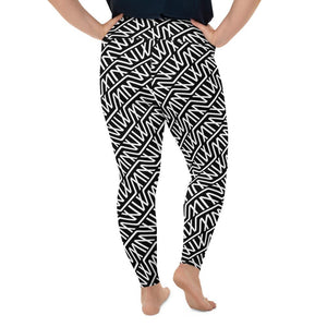 Logo Print Leggings Extended Size (No Pouch) - Marco Marco