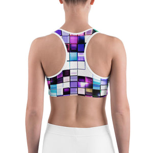 Designer Mens Underwear | Marco Marco | Crystal Tile Sports bra