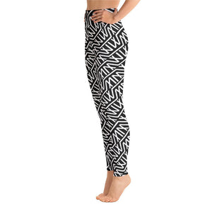 MM Logo Hi Waist Leggings (No Pouch) - Marco Marco