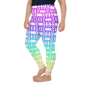 Rainbow Gradient Legging Extended Size (No Pouch) - Marco Marco