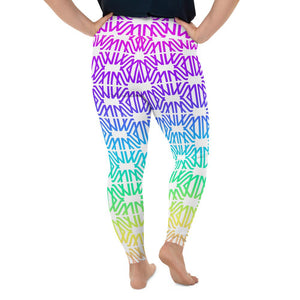 Designer Mens Underwear | Marco Marco | Rainbow Gradient Legging Extended Size (No Pouch)