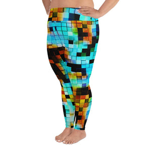 Pixel Leggings Extended Size (No Pouch) - Marco Marco