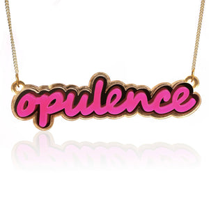 Opulence You Own EVERYTHING Necklace - Marco Marco