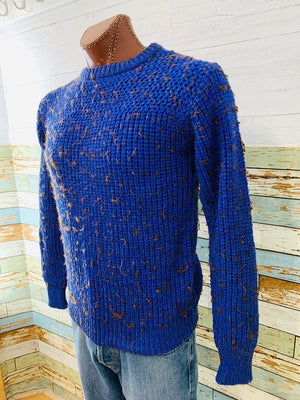 80's - Crew Neck Sweater  By Loft & Drownstone