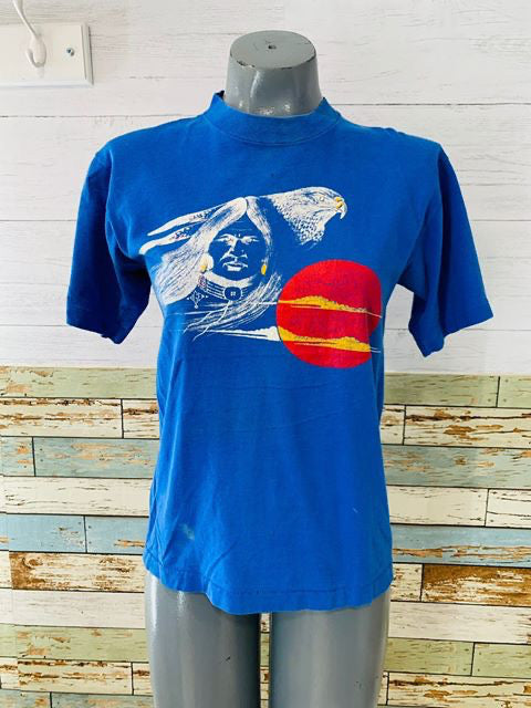 80's - Native American T-Shirt - Hamlets Vintage