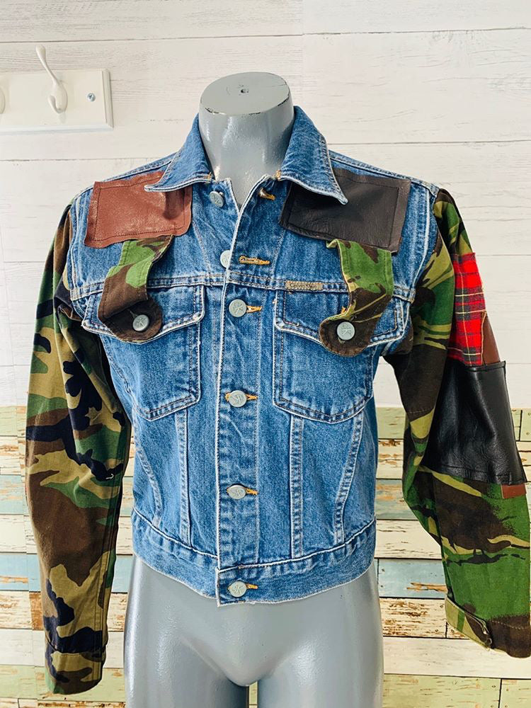 Neverabore - Re Design Unisex Denim Jacket