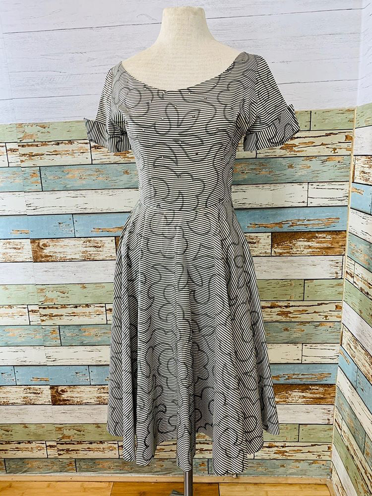 50s - Vintage Full Skirt Dress