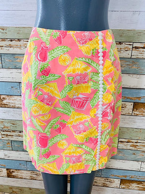 90s - Tropical Beach Bar By Lilly Pulitzer | Skirt