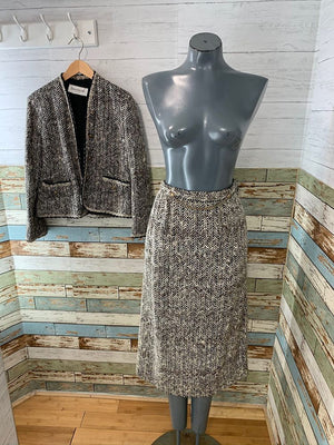 80s - 2 piece skirt set By Jamison Boutique