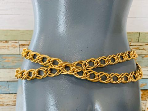 90s Coin Chain Belt - Hamlets Vintage