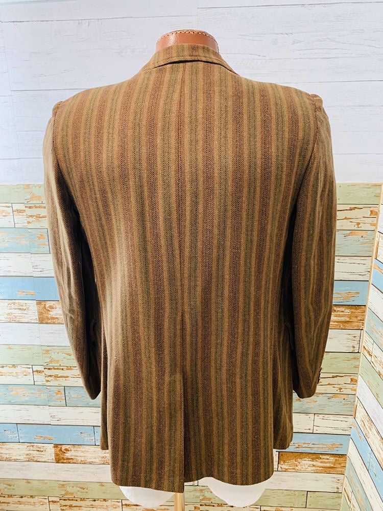 70s Doble Breasted Blazer - Hamlets Vintage