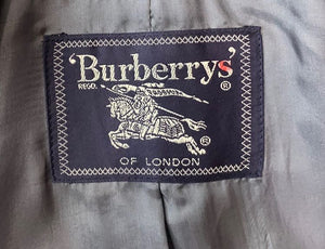 90s Short Suit Jacket By Burberry's of London