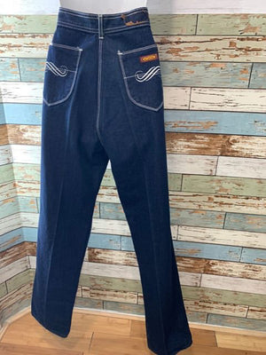 80s Hight Rise Denim Jeans - Hamlets Vintage