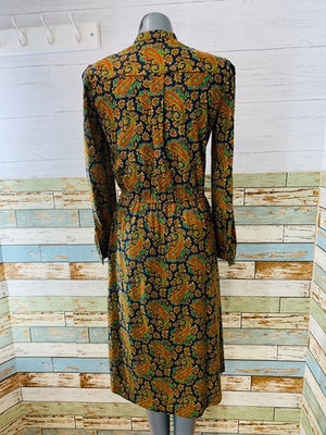 70s - Parley Long Sleeve Dress