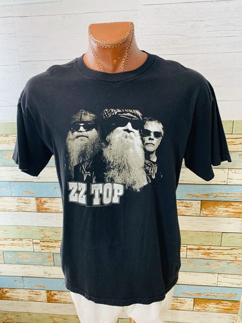 90s ZZ Top Band T-shirt - Hamlets Vintage