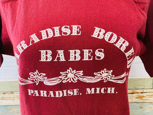 80s - Paradise Bored Babes | T-Shirt - Hamlets Vintage
