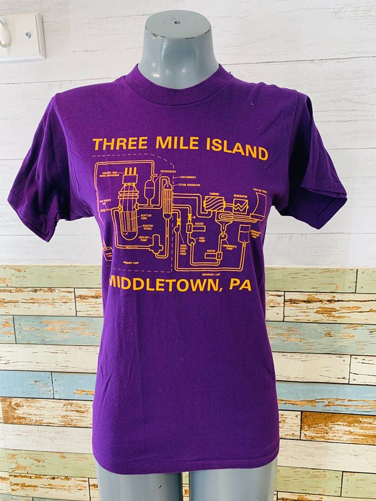 80s Three Miles Island Middletown Pa T-shirt