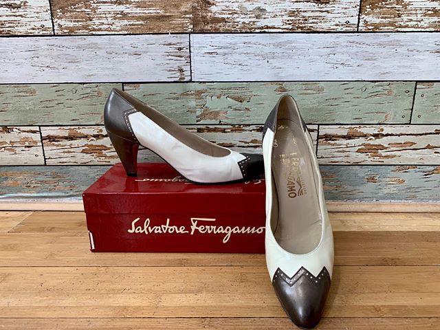 90s - Salvatore Ferragamo Shoes Pumps