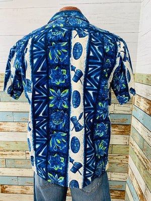70's Hawaiian Short Sleeve Shirt - Hamlets Vintage