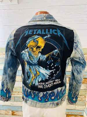 Neverabore - Metallica | Denim Jacket - Hamlets Vintage