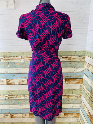 00s - Diane Von Furstenberg DVF 4 Pocket with Belt Dress - Hamlets Vintage