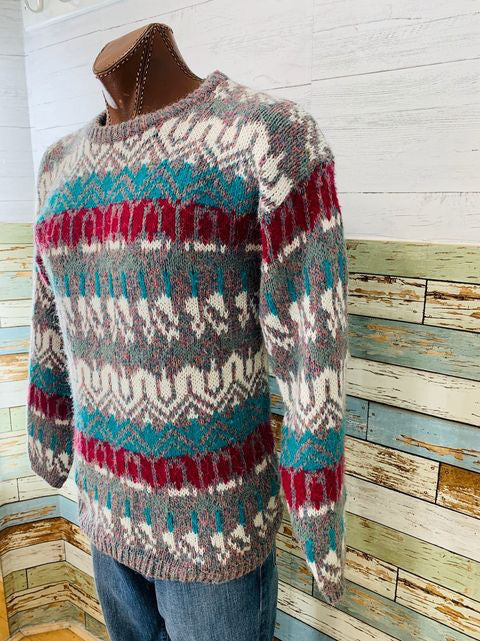 80s - Multicolor Sweater By Memphis Blues