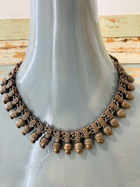 90s shell necklace - Hamlets Vintage