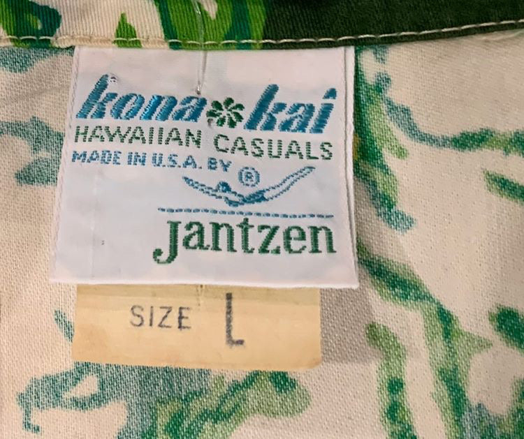 70s Kona Kai . Hawaii Shirt Short Sleeve - Hamlets Vintage