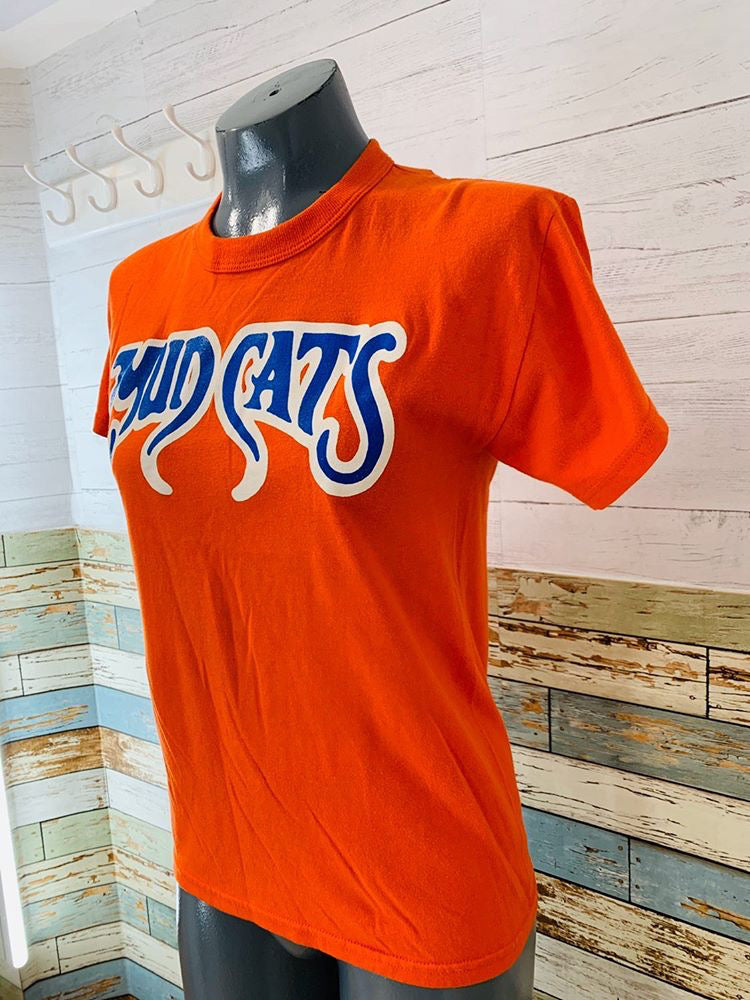 80s - Mud Cats | T-Shirt - Hamlets Vintage