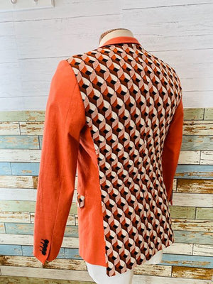 Paco Roca - Abstract | Blazer With Vest - Hamlets Vintage