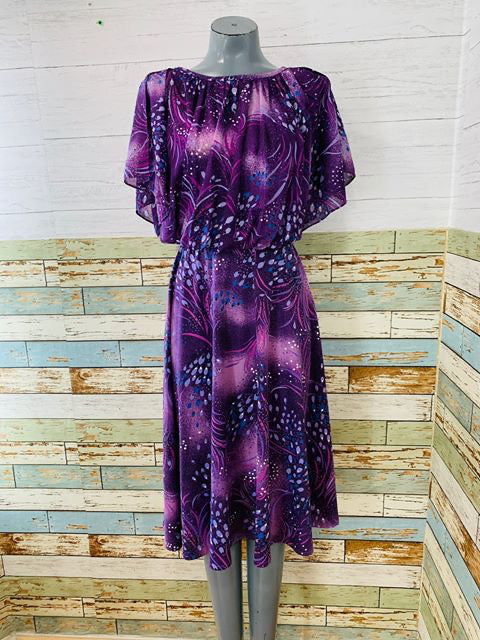 70s - Disco Flare Top Dress - Hamlets Vintage
