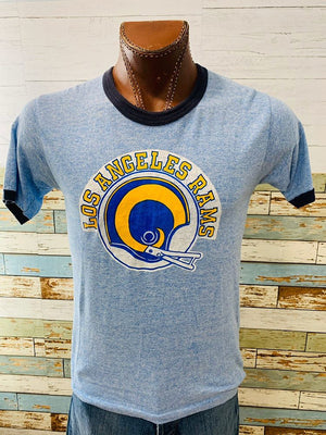 80s - Los Angeles Rams | T-Shirt - Hamlets Vintage